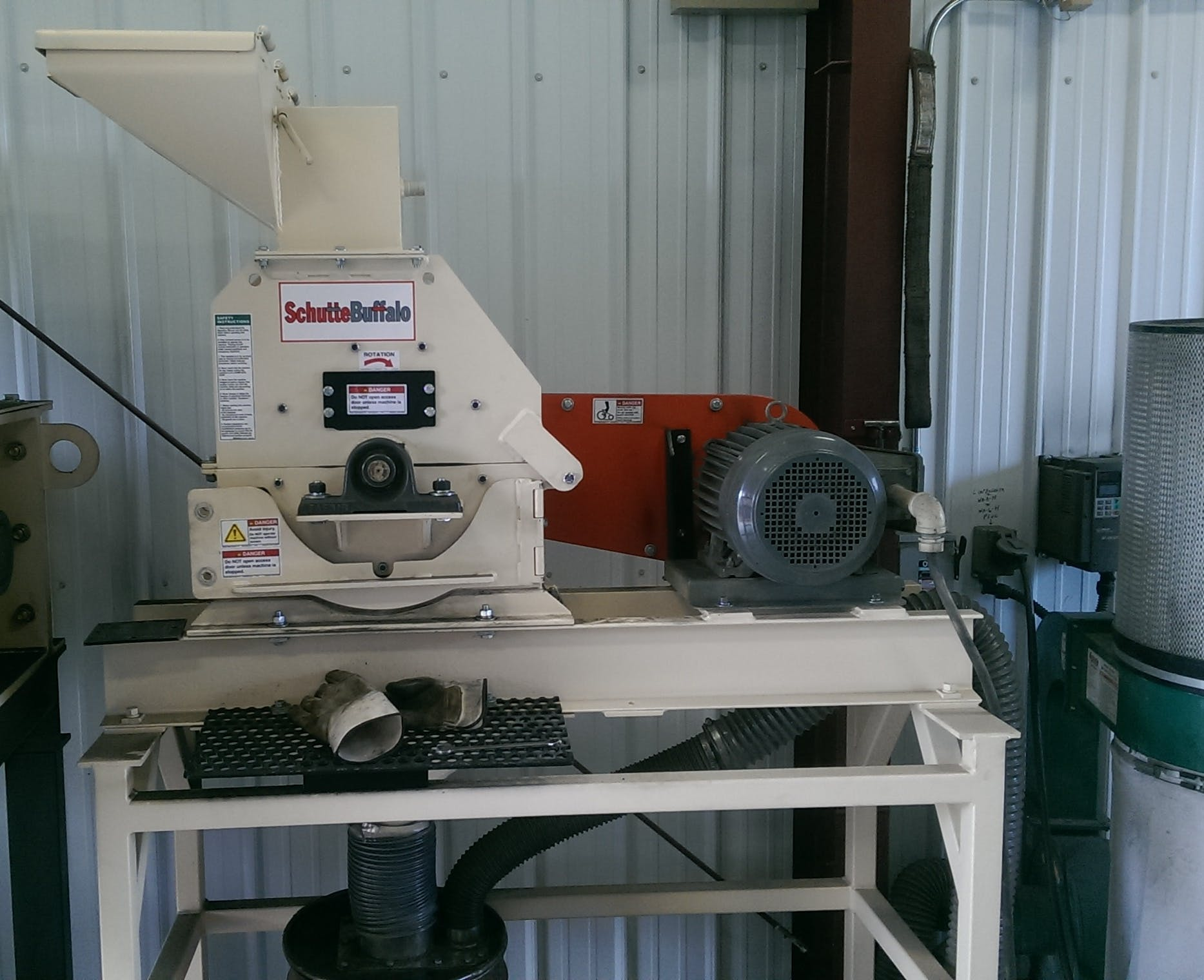 Schutte Buffalo Model WA-8-H Hammer Mill Grinder sold by Schutte Buffalo LLC