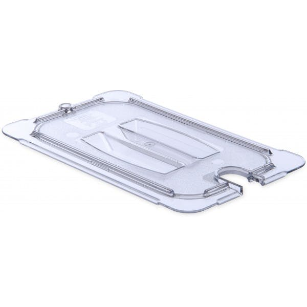 Fourth Size Clear Plastic Notched Cover