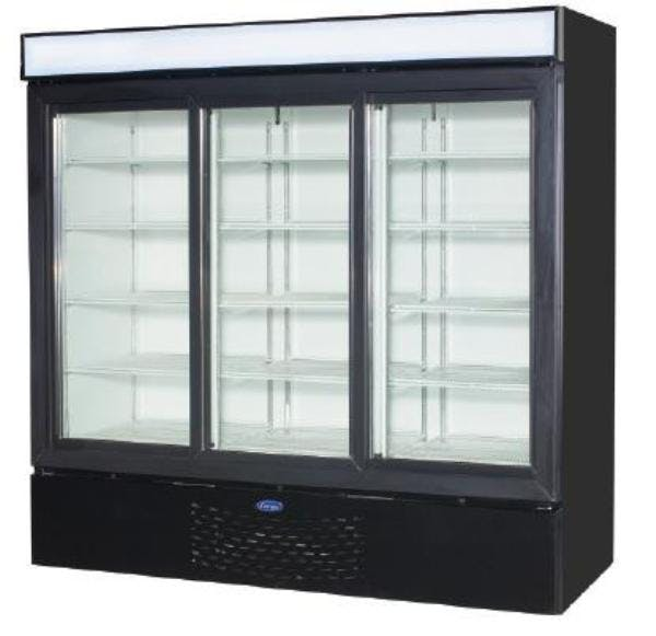 Master-Bilt MBGR70H Glass Door Merchandiser Refrigerator (72 cu ft capacity) Merchandiser sold by pizzaovens.com
