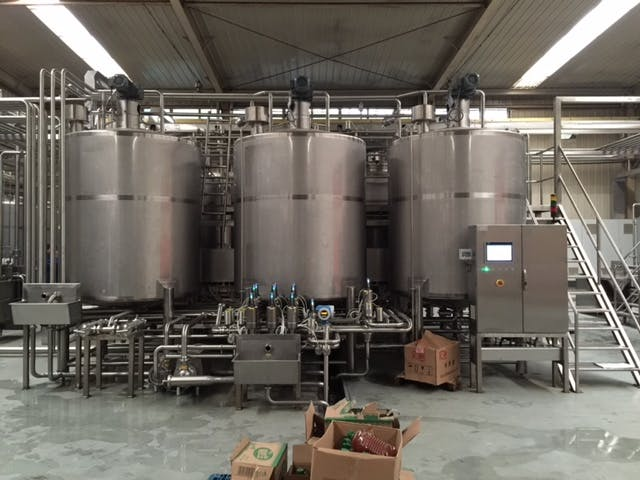 Holding Tanks Mixing tank sold by TPS Process Equipment