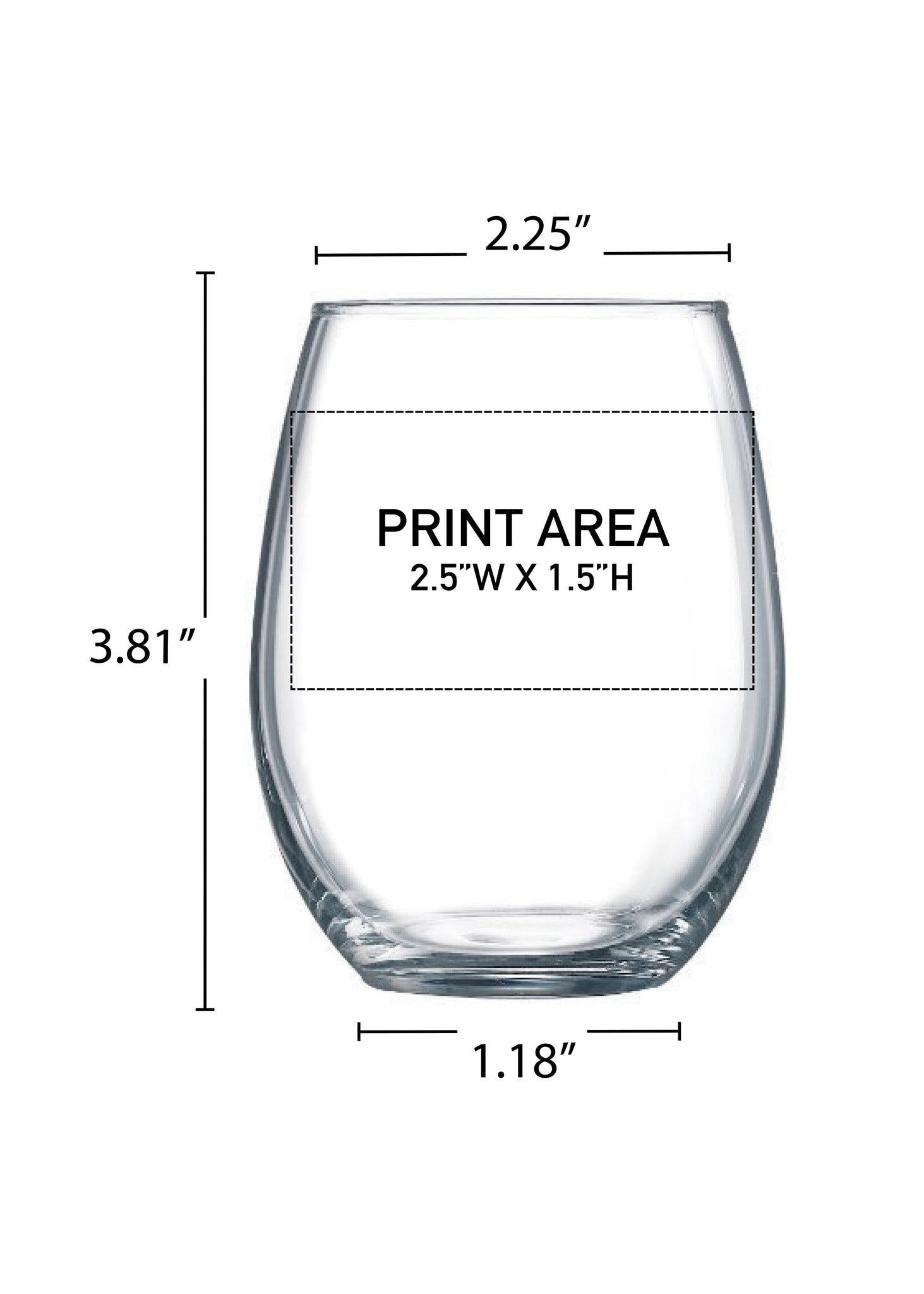 9 oz. Stemless Wine #310 - sold by Clearwater Gear