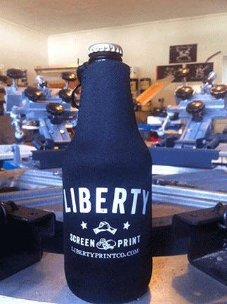 Koozies ! Koozie sold by Liberty Screen Print Co.