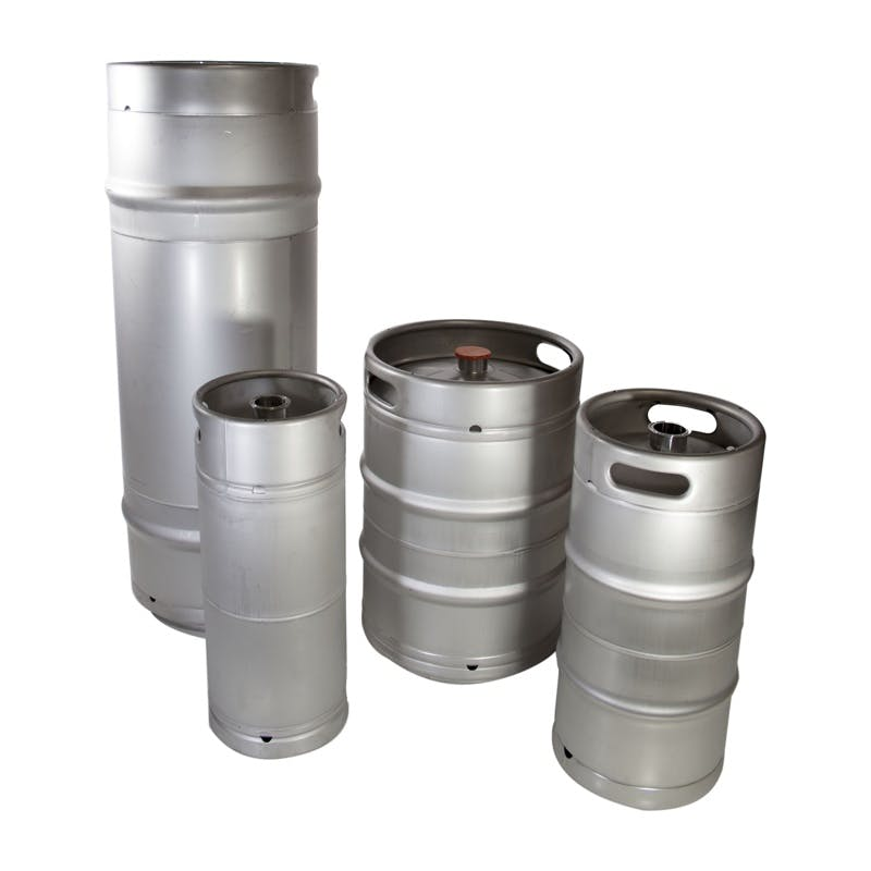 1/6 Barrel Keg - sold by The Compleat Winemaker