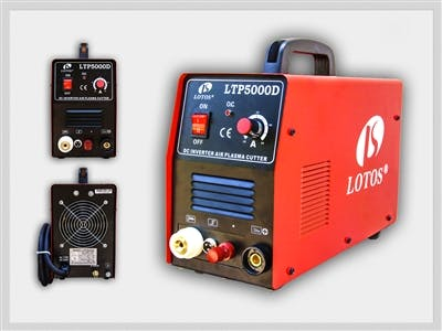 LOTOS LTP5000D Pilot Arc Dual Voltage 50Amp Plasma Cutter Plasma cutter sold by LOTOS Technology