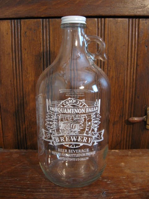 64 oz. Clear Growler Growler sold by Promotional Concepts of Wisconsin