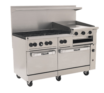 "Vulcan 60SS-6B24GB Endurance"" Restaurant Range Commercial range sold by CKitchen / E. Friedman Associates"
