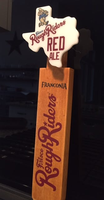 Wood Handle w/ interchangeable faceplate Tap handle sold by Switch Taps, LLC