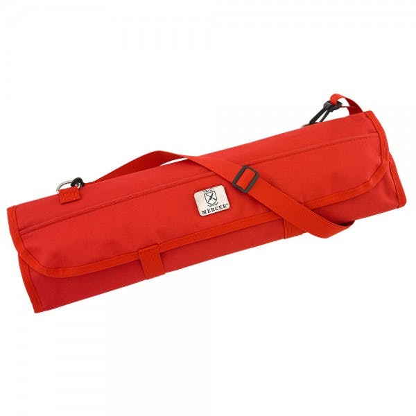 Cutlery 8-Pocket Red Knife Roll