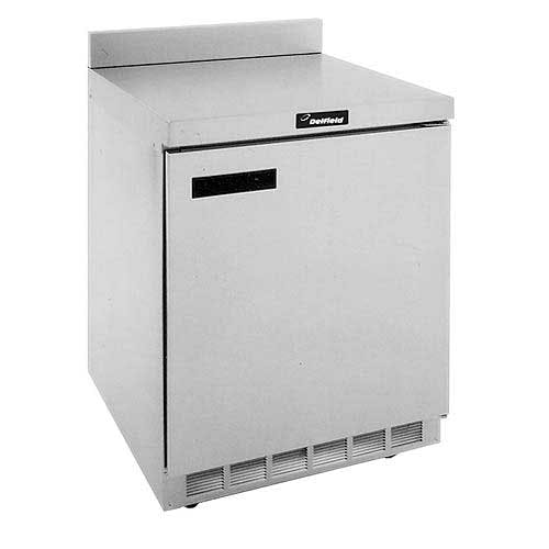 "Delfield - ST4427N 27"" Worktop Refrigerator w/Backsplash Commercial refrigerator sold by Food Service Warehouse"