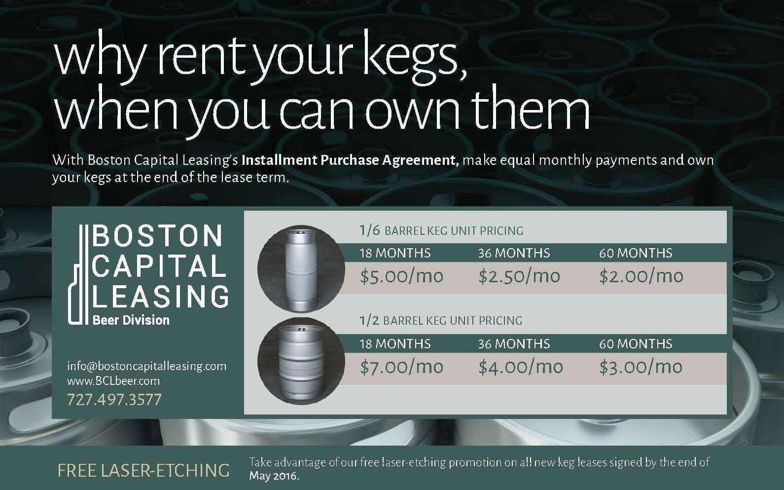 Keg Leasing & Lease-to-Own Programs Keg sold by InstantKegs.com