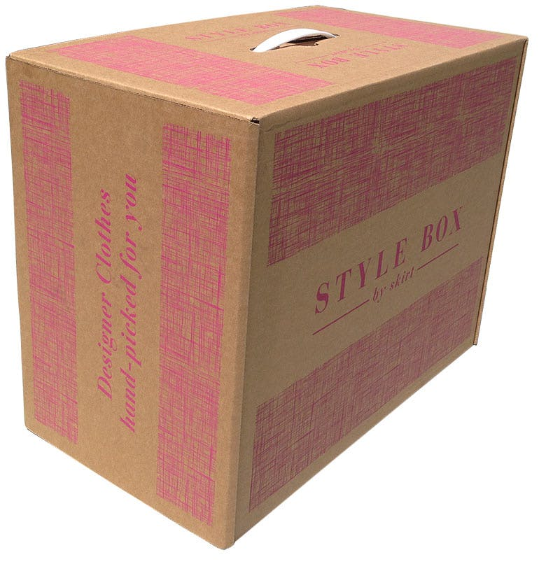 Suitcase Boxes - corrugated - 1 color flexo print - sold by Cactus Corrugated Containers Inc.