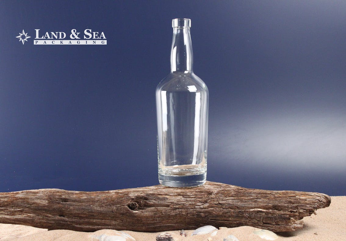 Tennessee Spirit Bottle Liquor bottle sold by Land & Sea Packaging