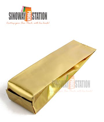 Foil Side Gusseted Pouch Gusseted pouch sold by sinowaypouchstation.com,LLC