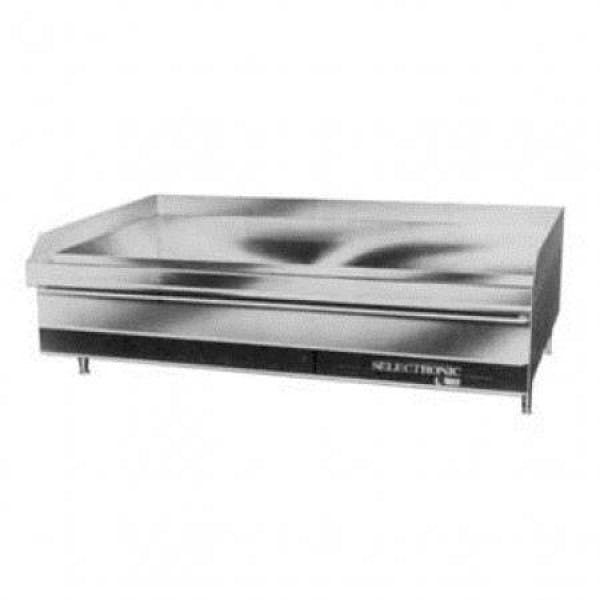 """LG Series 48"""" NG Griddle w/ Chrome-Plated Solid State Controls"""