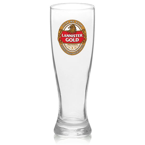 Clear 16 oz Arc Granc pilsner glass Beer glass sold by Brand U Promotional