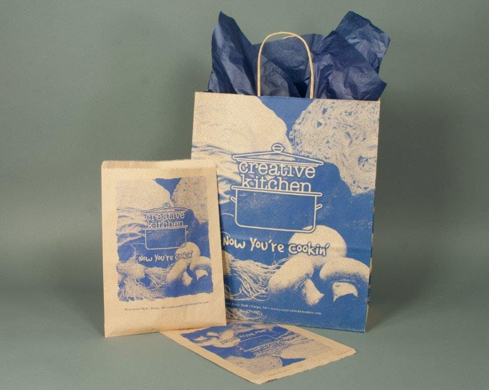 Recycled Kraft Bags  - Recycled Kraft Paper Shopping Bags and Gift Boxes - sold by Howard Packaging