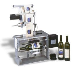 R310 Round Bottle Labeler. Semi-auto Bottle labeler sold by Andy Pac, Inc.
