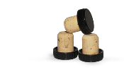 Natural T-top Corks Cork sold by Carolina Wine Supply