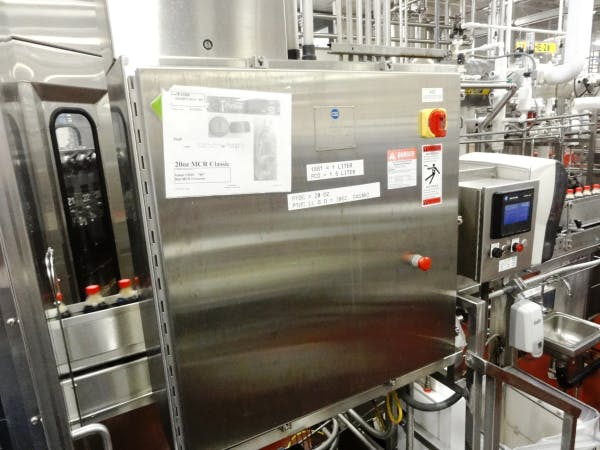 Used CROWN 60-12 Filler/Capper For Sale Bottle filler sold by SMB Machinery Systems