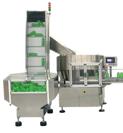 Capmatic MechanicalBottle Sorter Unscrambler sold by Capmatic