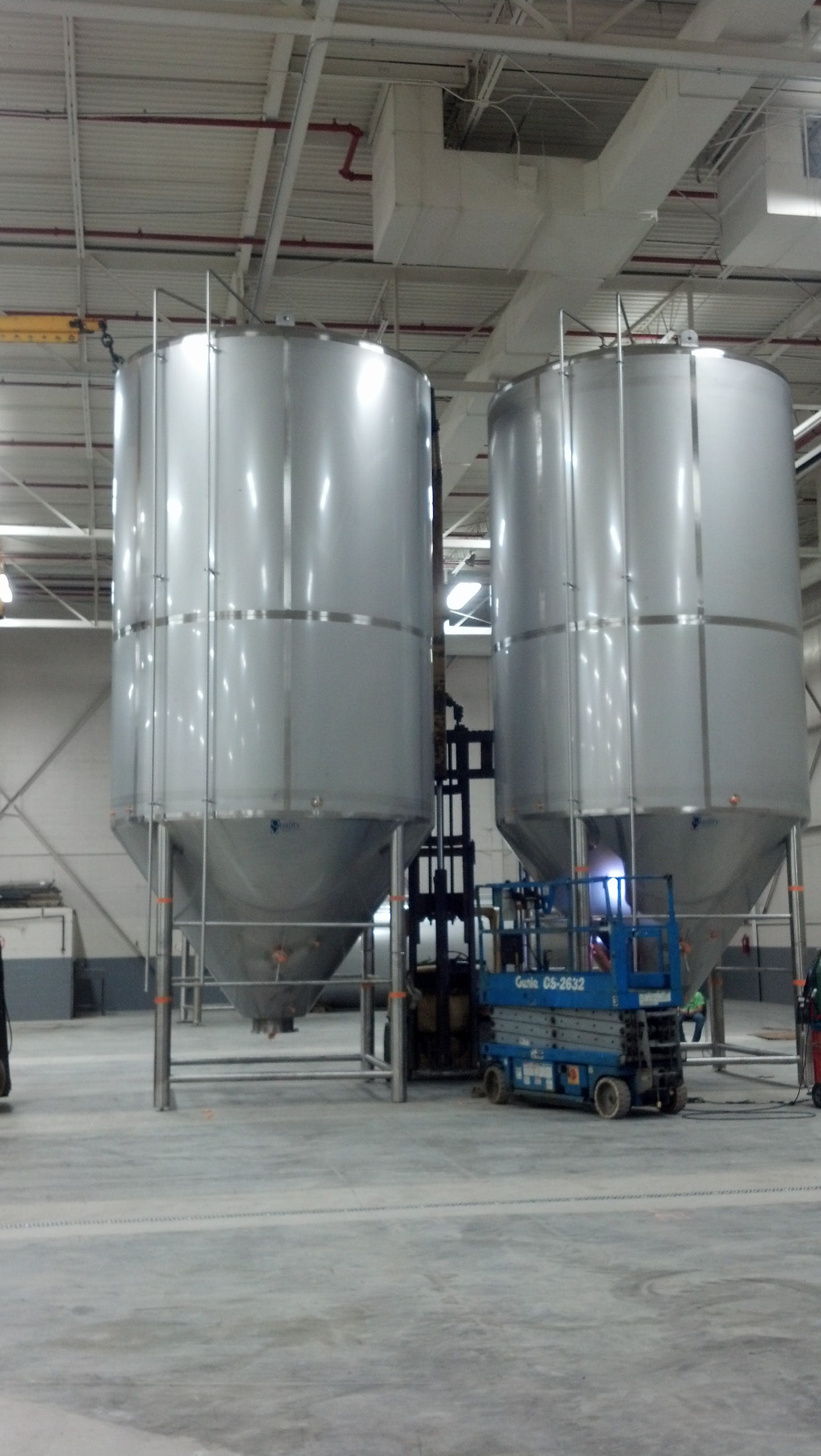 Fermenters Fermenter sold by Quality Tank Solutions