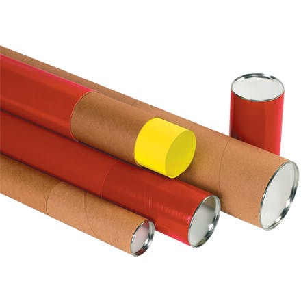 Premium Telescoping Kraft Tubes Kraft packaging sold by Ameripak, Inc.
