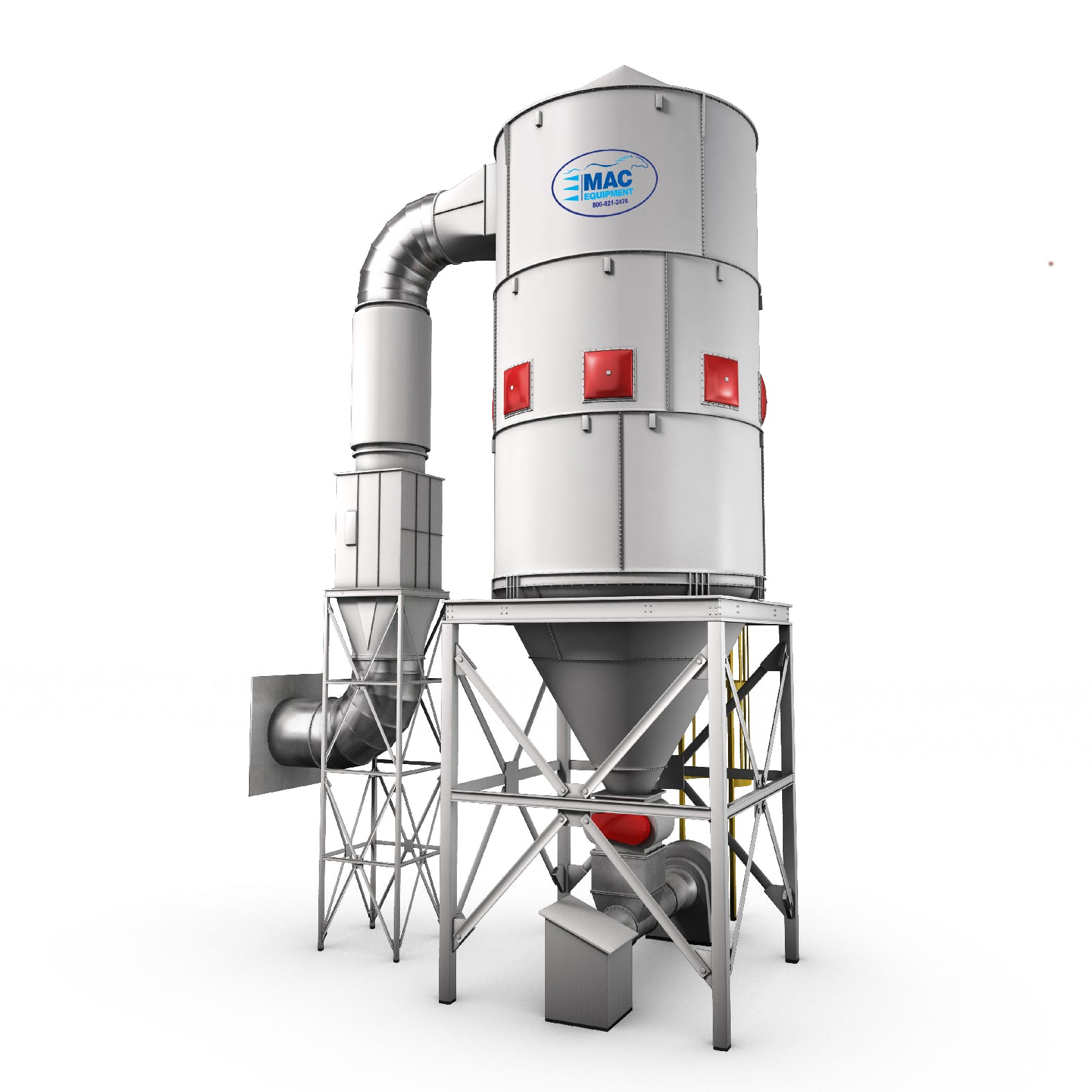 MAC Process-Dust Collection Filters and Cyclones Cartridge filter sold by Peak Equipment