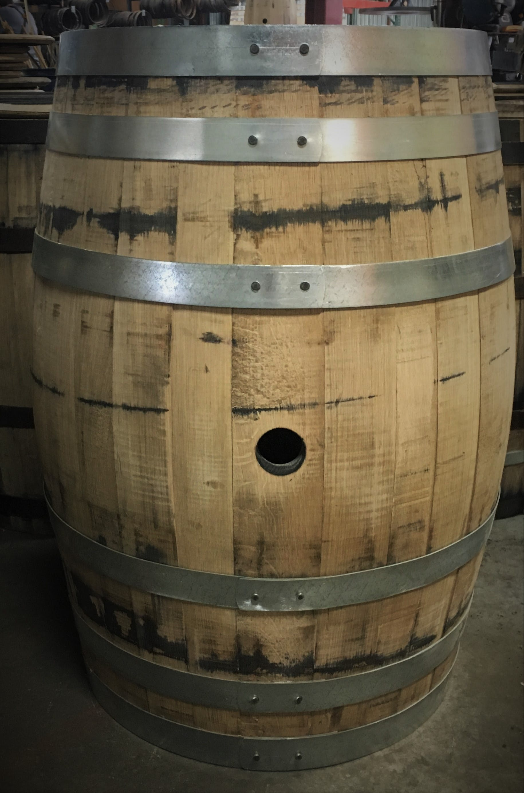 American Oakk 53 Gallon Barrel (Whiskey/Spirit) Barrel sold by East Coast Wood Barrels