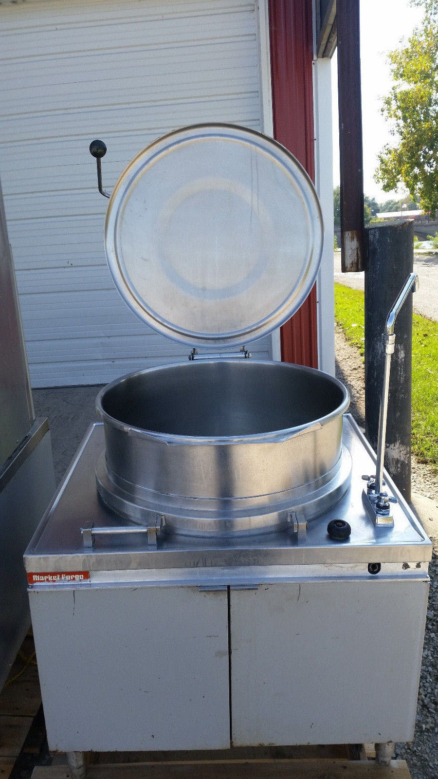 Market Forge MT40 Direct Steam Kettles 40 Gal Need Power Source - sold by Jak's Restaurant Supply
