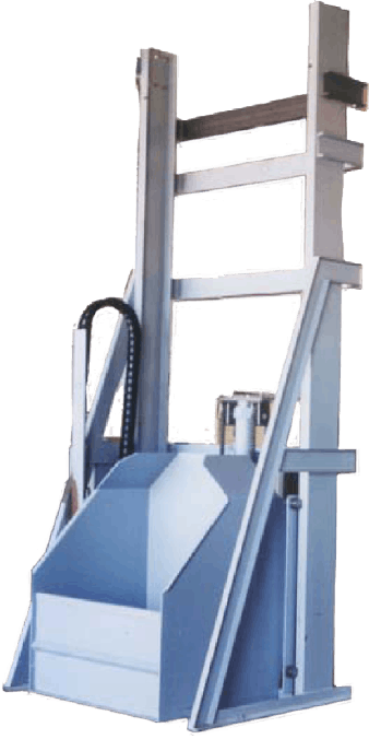Tote / Container Dumper Bulk bag discharger sold by EAS Corp