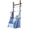 Tote / Container Dumper - Bulk bag discharger sold by EAS Corp