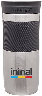 Stainless Steel 16 oz. Byron cup  Stainless steel mug sold by Distrimatics, USA