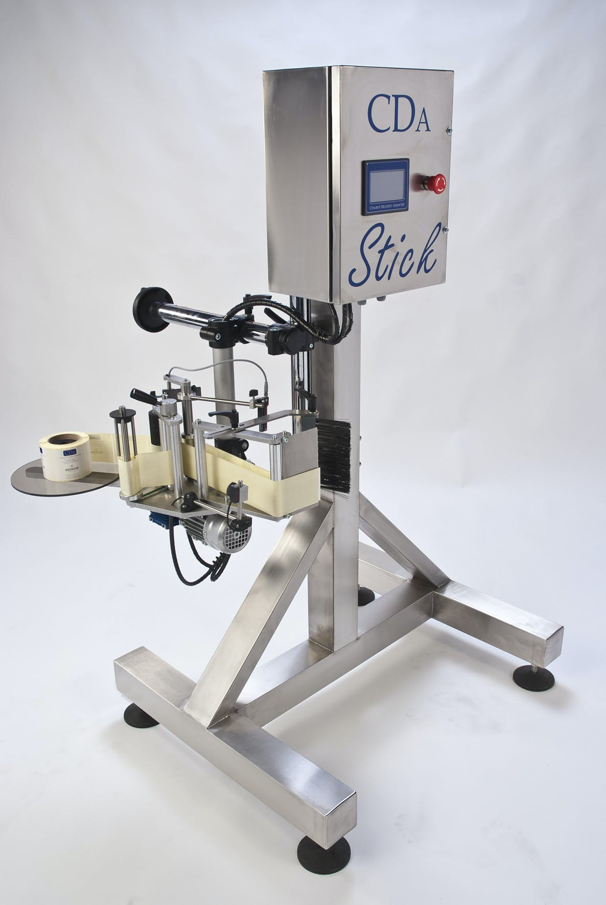 Stick Bottle labeler sold by CDA USA Inc,