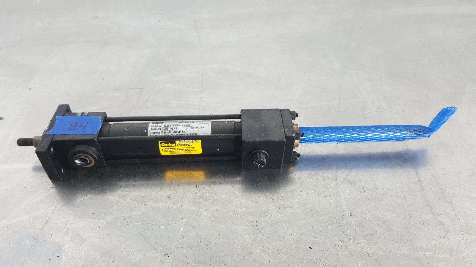 Parker Series 2A 01.00 KJ2AUS1414 4.000 250 Psi Air Pneumatic Cylinder New - sold by Jak's Restaurant Supply