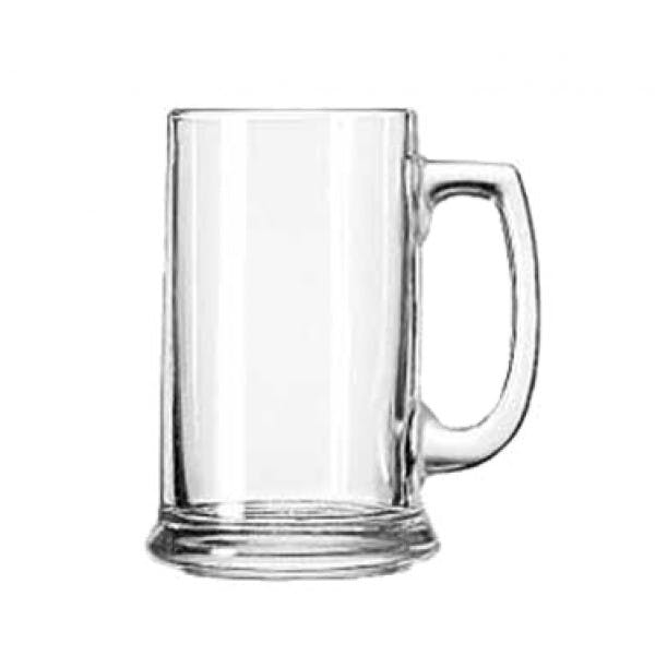15 oz. Handled Beer Mug Glass