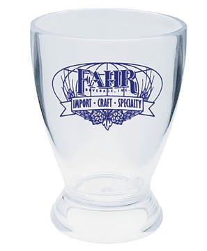 4oz pilsner sampler Beer glass sold by Luscan Group
