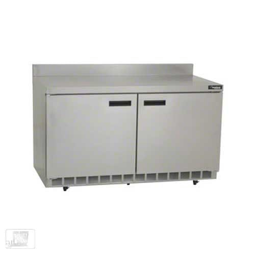 "Delfield - ST4460N 60"" Worktop Refrigerator w/Backsplash Commercial refrigerator sold by Food Service Warehouse"