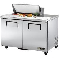 "True TSSU-48-8 - 48"" 8 Bin Sandwich/Salad Prep Table Food prep table sold by Prima Supply"