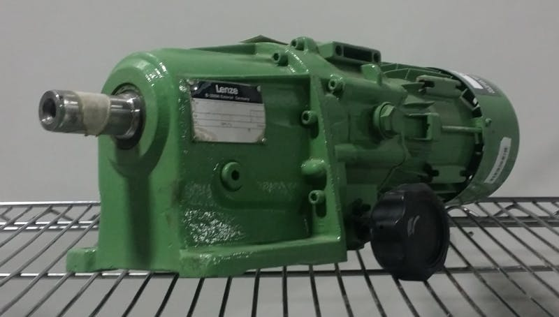 LENZE 12.602.10.13 AC Motor with Gearbox 0.25kW (Used) - sold by Aevos Equipment