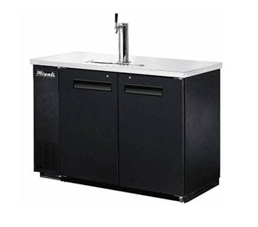 Migali C-DD48-2 Direct Draw Beer Dispensers (11.8 cu ft) Draft beer system sold by pizzaovens.com