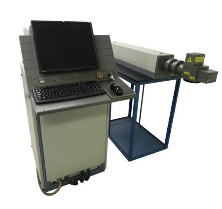 Diode Pumped Laser Marking System Welder sold by Hai Tech Lasers, Inc.