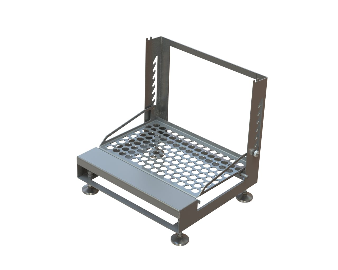 ERG-300 Ergonomic Stand Equipment stand sold by Fusion Tech Integrated Inc.