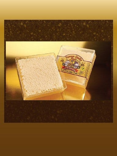 RAW HONEYCOMB SQUARES - CASE Honey sold by Bennett's Honey Farm
