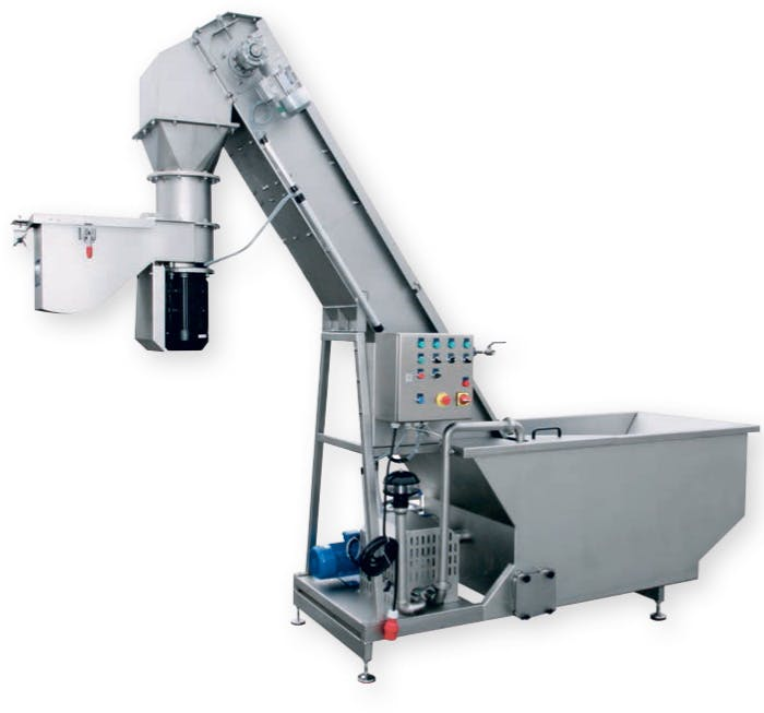 KWEM3000 - Kreuzmayr KWEM 3000 Washer / Hopper / Grinder - sold by Juicing Systems