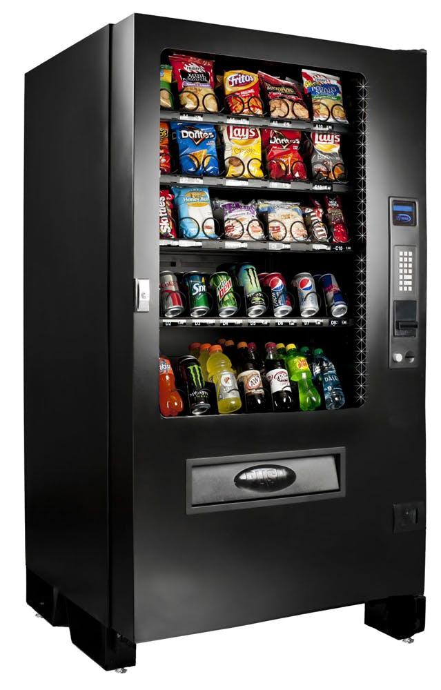 Seaga Infinity 5-Wide Combo Vending Machine Vending machine sold by The Discount Vending Store