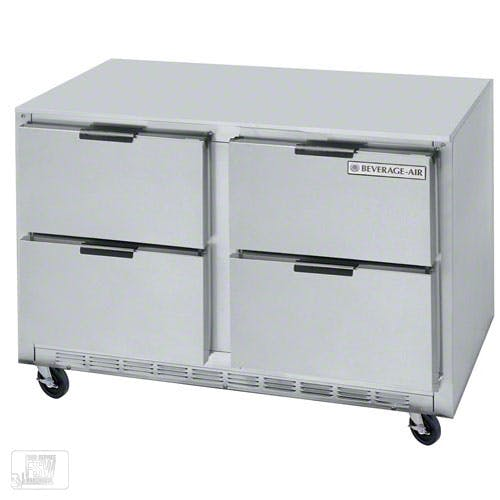 "Beverage Air - UCRD48A-4 48"" Undercounter Refrigerator w/ Drawers Commercial refrigerator sold by Food Service Warehouse"