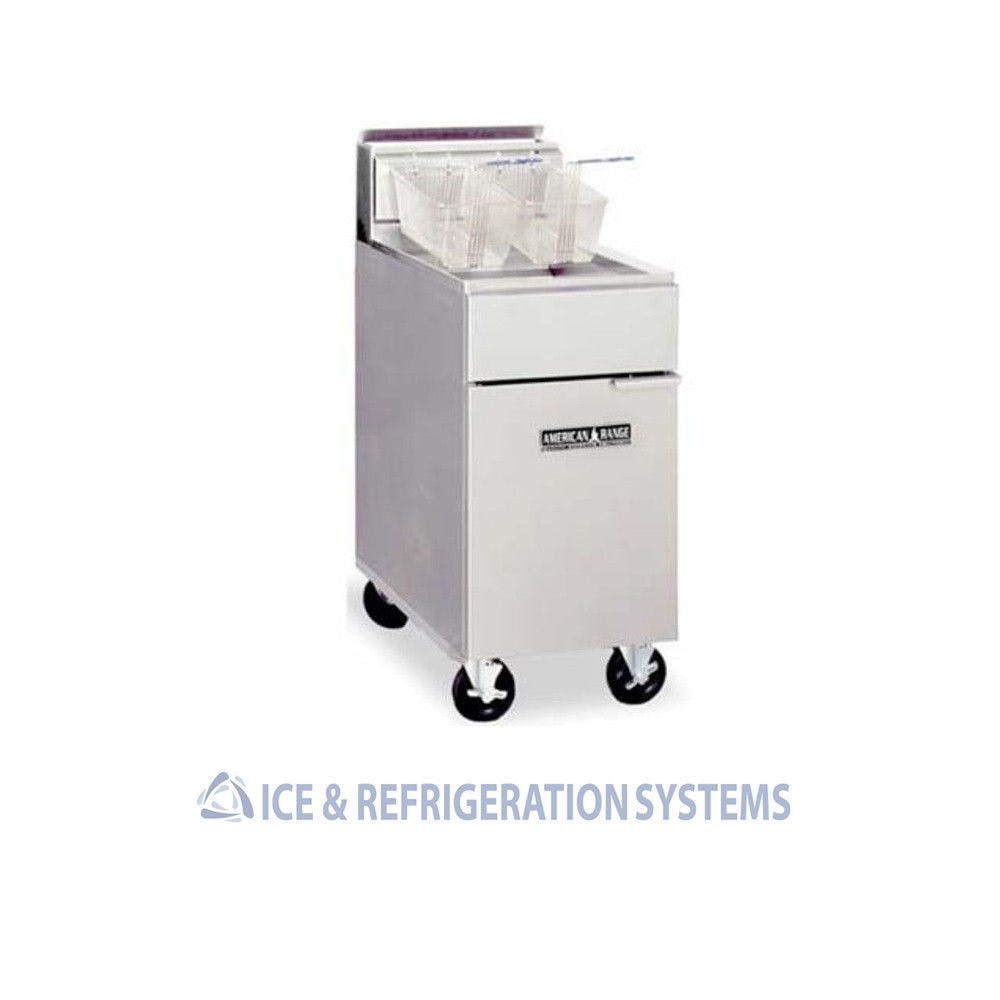 AF-35/50 Commercial fryer sold by Ice & Refrigeration Systems
