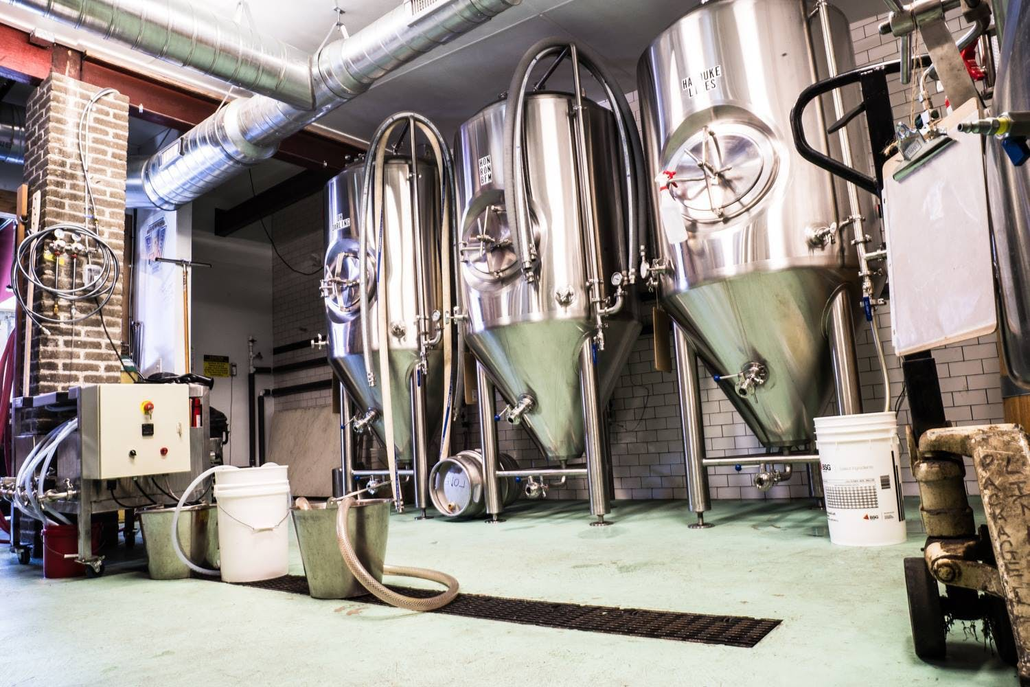 Systech Brewery Tanks Brewery tank sold by Systech Stainless Works, LLC
