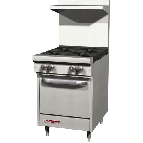 "Southbend (S24E) - 24"" Gas Open Burner Restaurant Range - S Series Commercial range sold by Food Service Warehouse"