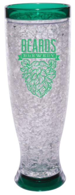 16 oz. Double Walled Acrylic Gel Freezer Pilsner Plastic cup sold by Prestige Glassware